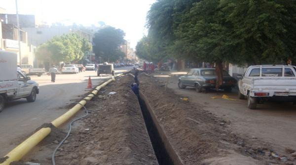 سكان 40 عمارة بشارع في دار السلام يشكون عدم استكمال توصيل الغاز
