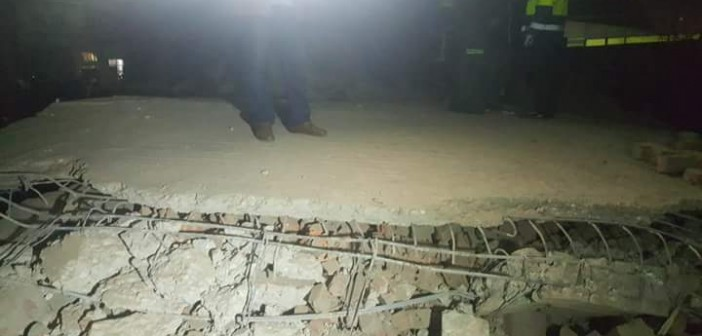 📷| بالصور.. شاهد عيان: انهيار منزل بالفيوم دون سقوط ضحايا