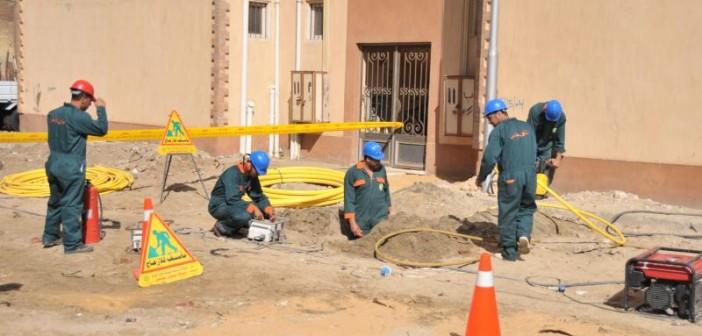 سكان شارع بدار السلام يشكون توقف مد خطوط الغاز إلى منازلهم