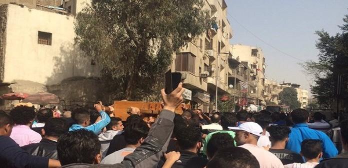 ▶| بالفيديو.. تشييع جنازة قتيل الدرب الأحمر ضحية رقيب الشرطة
