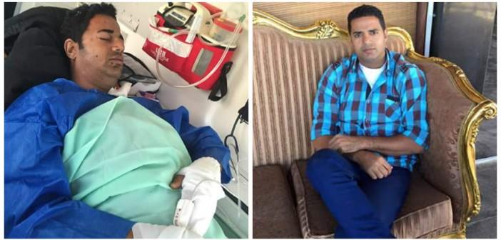 📷| شقيقة أمين شرطة بُتر ساقه بتفجير بالعريش للرئيس: لماذا كرمت ضابط ونسيت الأمين والمجند؟
