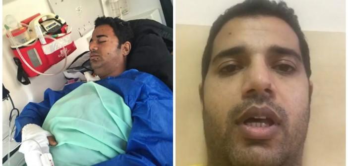 ▶|فيديو.. أمين شرطة للرئيس بعد بتر قدمه بتفجير العريش: «الدولة تجاهلتني .. وحاسس بالعجز»
