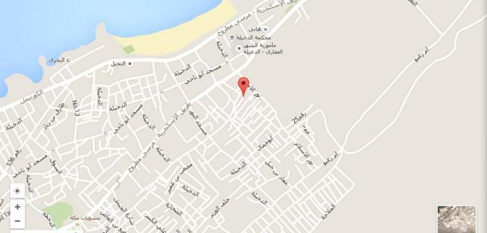 ▶| مسؤولو مياه الإسكندرية يهدرون المياه بتجاهلهم إصلاح ماسورة بالدخيلة