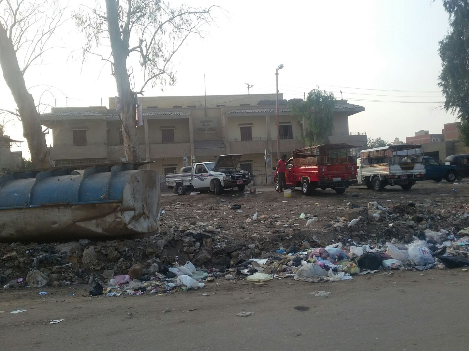 6 ملامح لأزمة القمامة في الدقهلية