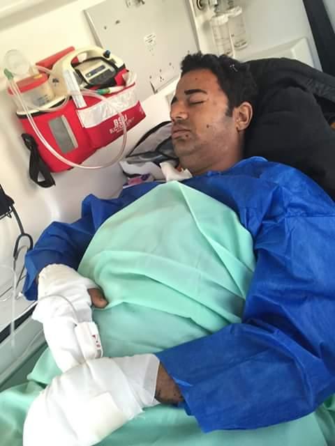 شقيقة أمين شرطة بُتر ساقه في تفجير بالعريش للرئيس: لماذا كُرم الضابط ونُسي الأمين والمجند؟