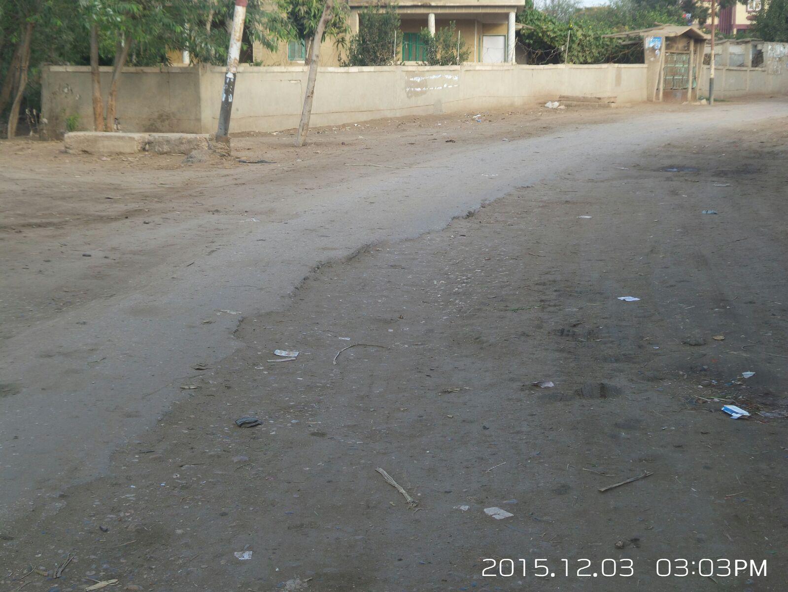 أعمال حفر ماسورة المنطقة الصناعية بقويسنا تثير استياء أهالي «الرمالي»