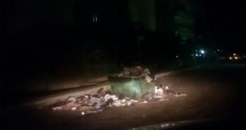 تفاقم أزمة القمامة بالعبور
