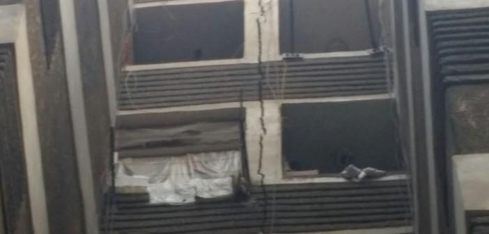 ▶| عقار آيل للسقوط يهدد 54 أسرة بعين شمس.. ومواطن: «أبلغنا المسؤولين دون جدوى»