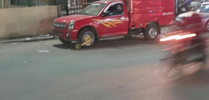 📷| مواطن يتهم أمين شرطة بـ«كلبشة» سيارته بالبحيرة: «قاللي ادفع»