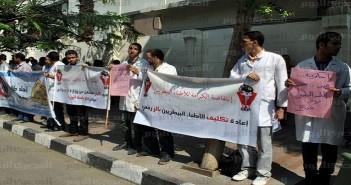 مظاهرة للأطباء البيطريين