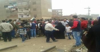مصرع عامل في مكتب النائب محمد أنور السادات دهسًا تحت عجلات قطار