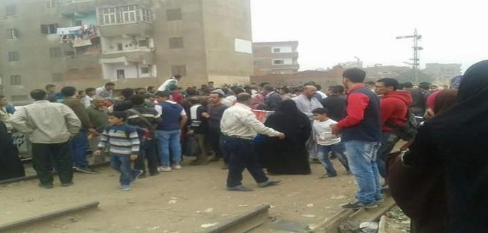 📷| مصرع عامل بمكتب النائب محمد أنور السادات دهسه قطار بالمنوفية