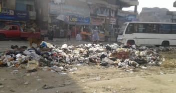 شوارع بهتيم مقلب قمامة كبير في غياب مسؤولي حي شرق شبرا