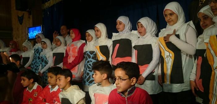 📷| عروض مسرحية على مسرح «تعليم الزقازيق» بحضور هاني كمال