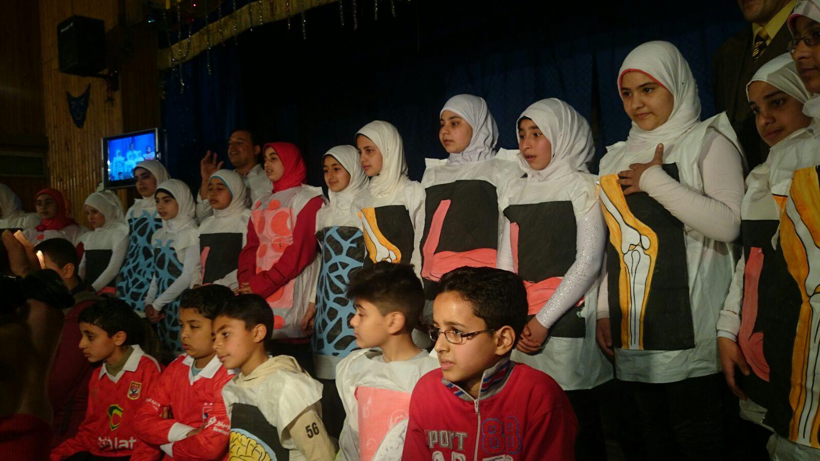 عروض مسرحية على مسرح «تعليم الزقازيق» بحضور مدير الأنشطة بالوزارة
