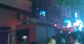 إخماد حريق محدود بفندق «مترو بول» بالإسكندرية