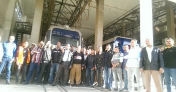 وقفة لعمال صيانة «Alstom» للمطالبة بتعيينهم في «المترو»