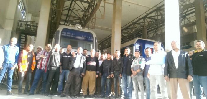 📷| الأحد.. وقفة لعمال صيانة «Alstom» للمطالبة بتعيينهم في «المترو»