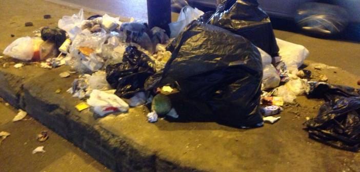 📷| سكان مصدق بالدقي يشكون تفاقم القمامة بالشارع