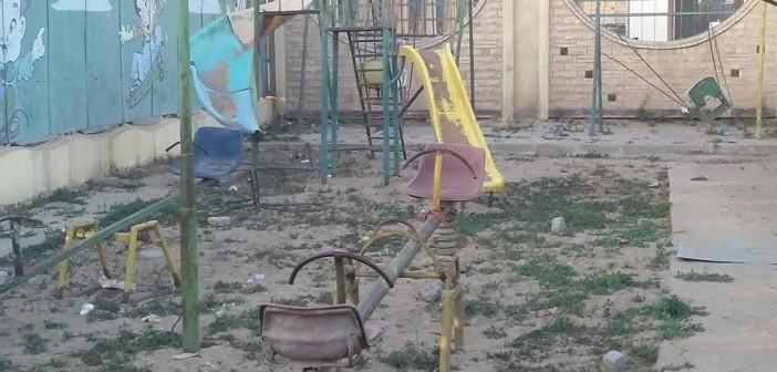 📷 ملاهي نادي كهرباء طلخا.. مصائد الإهمال تهدد حياة الأطفال