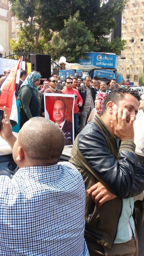 وقفة احتجاجية للعاملين في «الائتمان الزراعي» لإقالة رئيس البنك