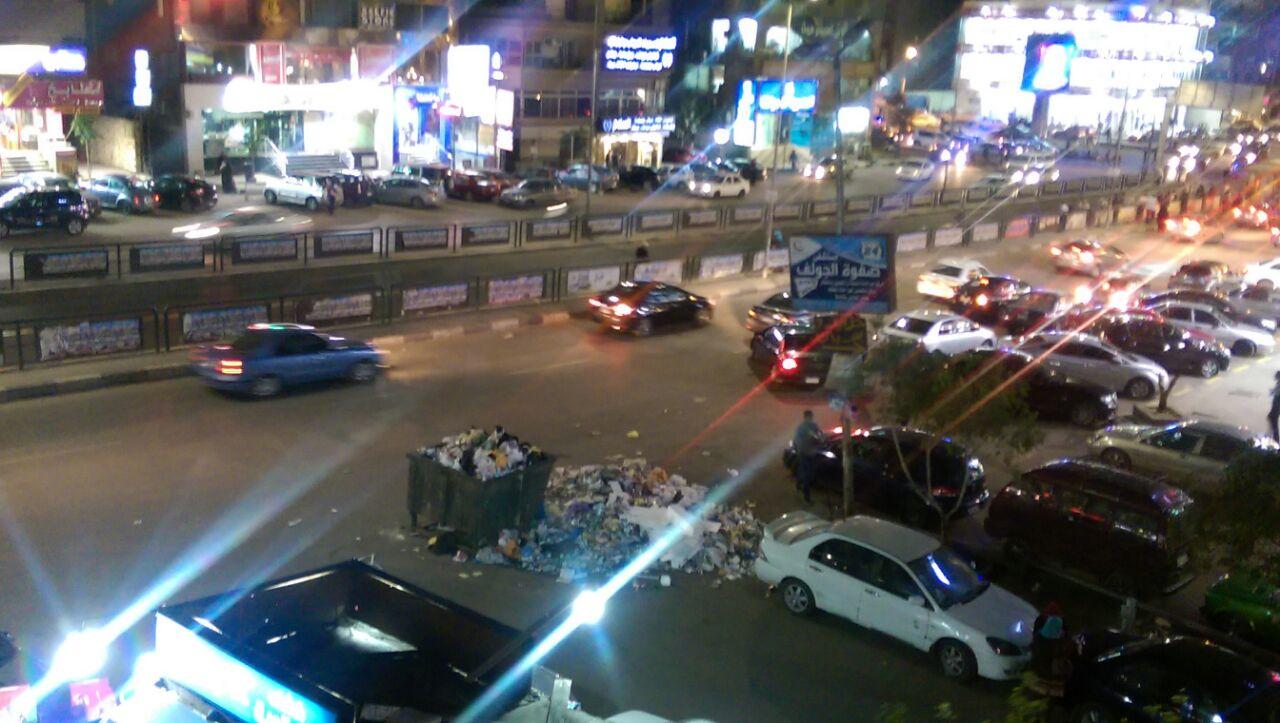 استياء سكان شارع مصطفى النحاس من تفاقم مشكلة القمامة