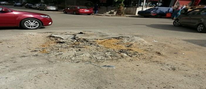 📷 أعمال حفر تعرقل المرور في محيط مسجد الحق بمدينة نصر
