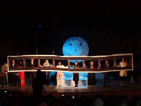 عرض «أنت حر» للنين الرملي على مسرح تربية جامعة المنصورة