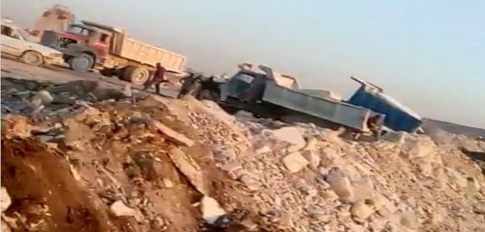 ▶| فيديو.. ردم أراضي شق الثعبان بـ«كسر» الرخام.. ومواطن: تمهيدًا لبيعها