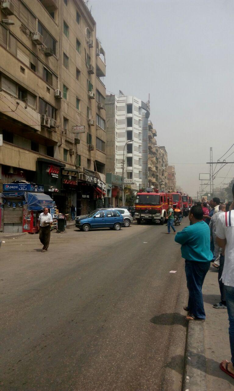 حريق محدود بشقة في ميدان سفير بمصر الجديدة