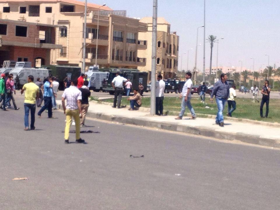 شهود عيان يروون تفاصيل إطلاق أمين شرطة النار على «بائع شاي»