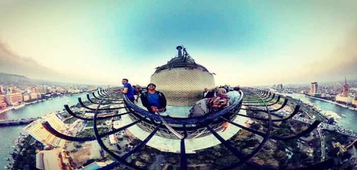 صور| مصر 360 درجة.. برج القاهرة وكورنيش إسكندرية بشكل تاني