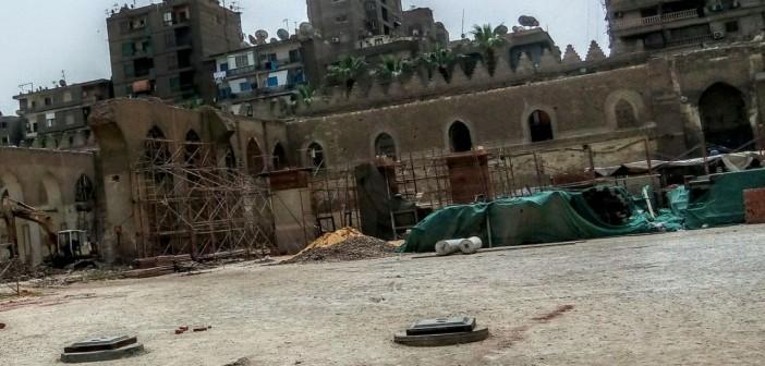 صور| بدأ تطوير «مذبح الإنجليز» في 2008.. متى ينتهي ترميم مسجد الظاهر بيبرس؟