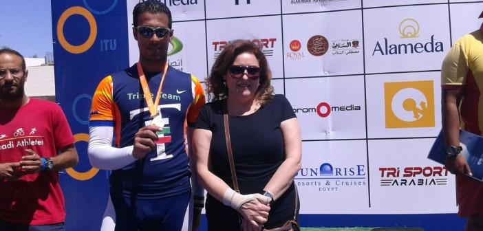 صور| لاعب بالفريق المصري ببطولة شرم الشيخ للترايثلون: الإقامة على حسابنا ولا مكافآت لفوزنا