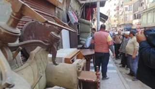 حملة إزالة موسعة بشارع العباسي بحي غرب المنصورة بحضور محافظ الدقهلية