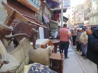 📷 حملة إزالة لتعديات بحي غرب المنصورة بحضور محافظ الدقهلية (صور)