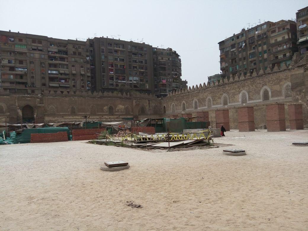 بدأت أعمال تطوير «مذبح الإنجليز» في 2008.. متى ينتهي ترميم مسجد الظاهر بيبرس؟