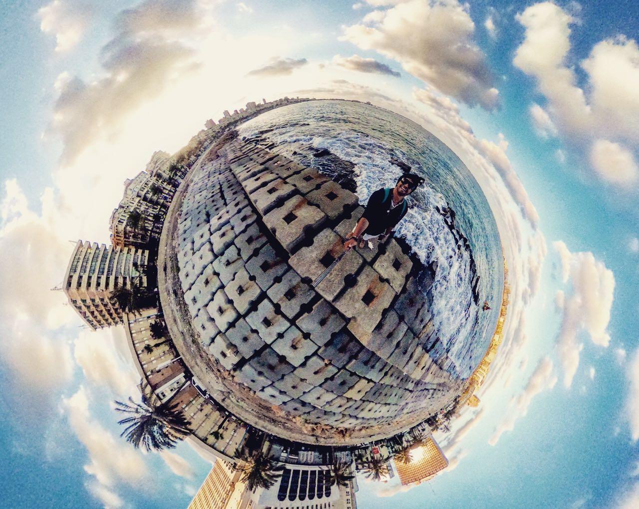 شوف مصر 360 درجة.. برج القاهرة والمسرح الروماني وكورنيش إسكندرية بشكل تاني