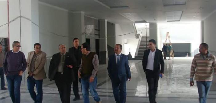 📷| الأحد.. افتتاح المرحلة الأولى لإنشاءات جامعة دمياط