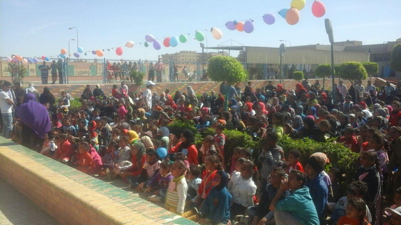 احتفال يوم اليتيم في مدينة بدر (صور)