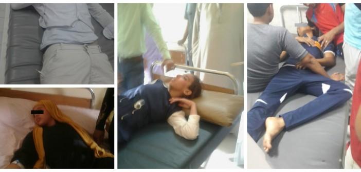 صور.. إصابة 5 طلاب بأسوان بالإغماء والتشنجات بعد تعطيمهم ضد الحصبة الألمانية