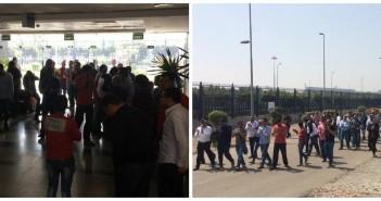 بالصور.. لليوم الـ 14.. العاملون بـ«المصرية للاستيرنكس» يواصلون اعتصامهم لصرف مستحقاتهمotorCreated