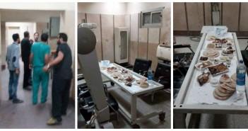 غرفة أجهزة الأشعة بمستشفى المنصورة تتحول لطاولة طعام