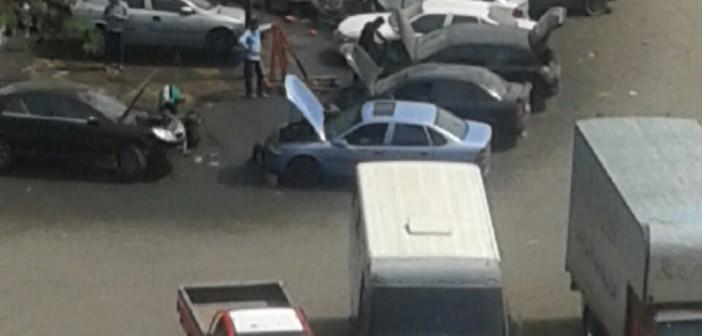 فيديو.. سكان «العبور» يشكون من الورش المهنية بداخل الكتلة السكنية