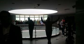 اعتصام بإحدى شركات «القابضة للبتروكيماويات» ضد عدم صرف الأرباح