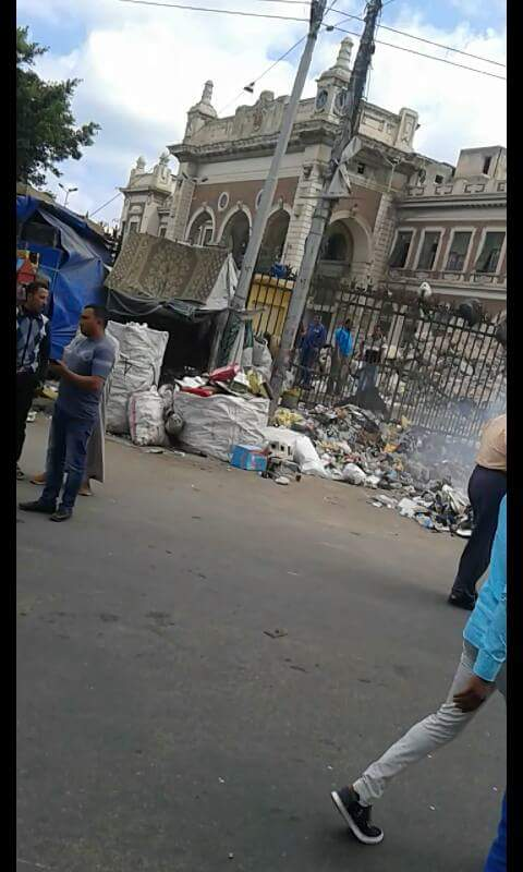 الإسكندرية .صحافة المواطن .واتس آب المصرى اليوم .القمامة.محطة مصر