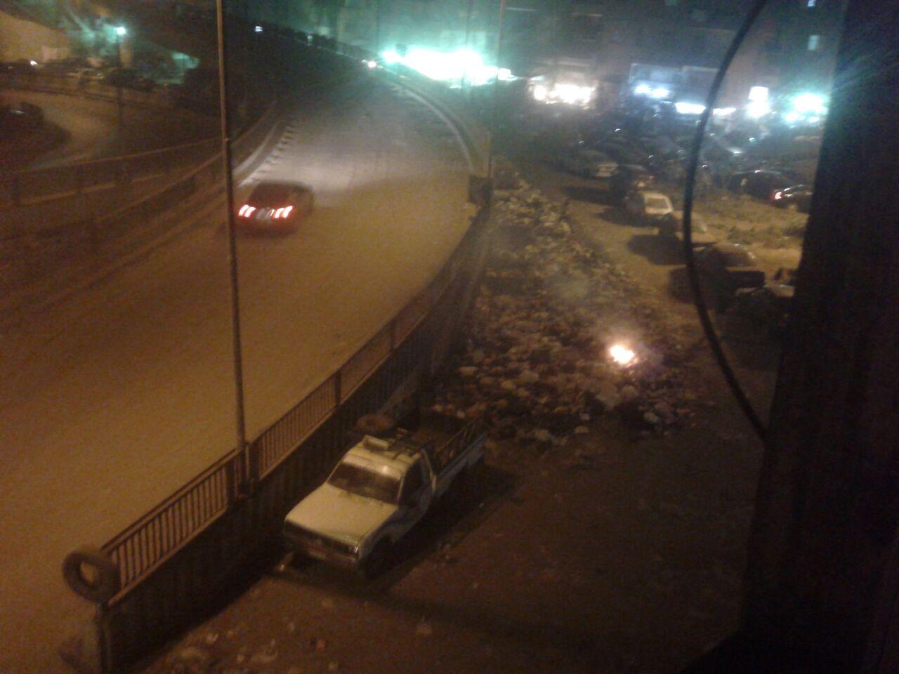 بالصور.. تراكم القمامة في بشتيل.. وحرقها قرب محور أحمد عرابي