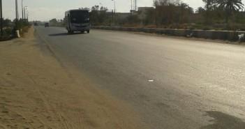 أهالي «أبو تلات» بالإسكندرية يطالبون وزير النقل والمحافظ بمطبات لـ«طريق الموت»