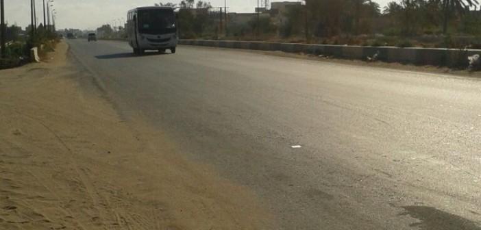 أهالي «أبو تلات» بالإسكندرية يطالبون بمطبات تحميهم من «طريق الموت»