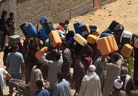 الجيزة | مواطنون يشكون انقطاع المياه بالحوامدية